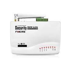 Nuevo Wireless/wired GSM Seguridad Para el Hogar Sistema de Alarma Antirrobo Auto Dialing SMS Call control Remoto de alarma
