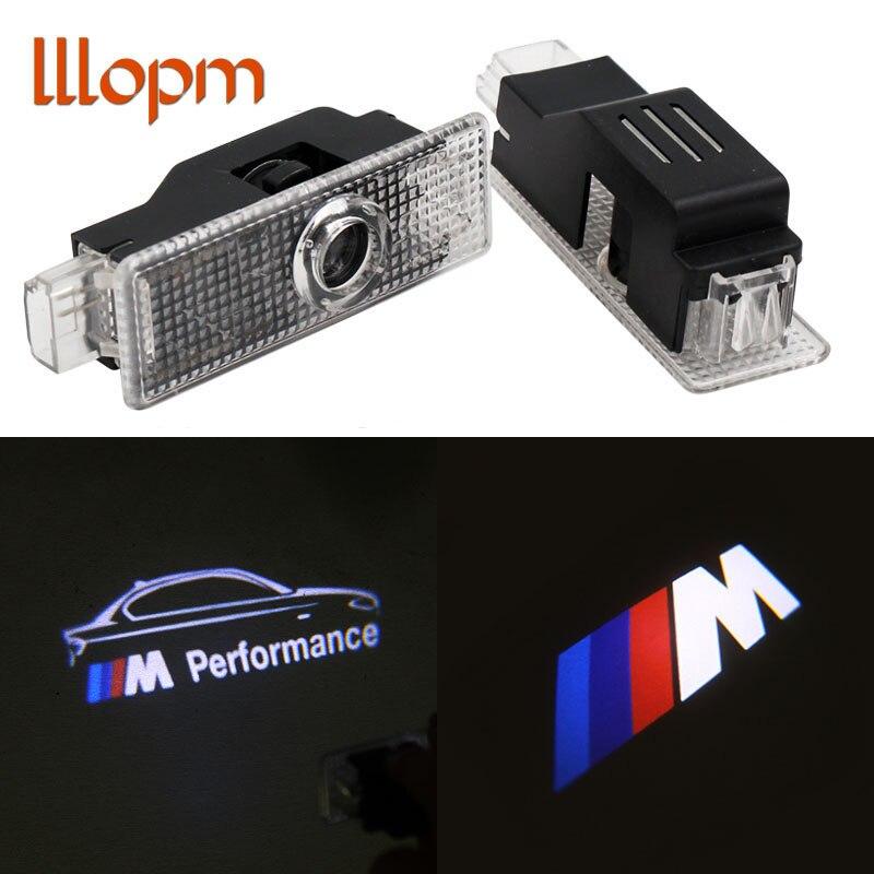 2pcs LED Door Warning Light With Logo Projector For BMW E60 E90 F10 F30 F15 E63 E64 E65 E86 E89 E85 E91 E92 E93 F02 M5 E61 F01 M car led door logo projector ghost shadow light for bmw 3 5 6 7 m3 m5 e60 e90 f10 e63 f30 e64 e65 e86 e92 e85 e93 e61 f01 f02 gt
