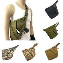 Concealed Tactical Storage Gun Bag Anti-theft Bag Chest Bag Hunting Nylon Holster Men's Left Right Shoulder Bag
