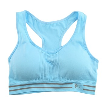 Absorb Sweat Quick Drying Sports Gym Push Up Bra Fitness Padded Stretch Workout Top Vest Running Sleeveless Yoga Underwear Women 10