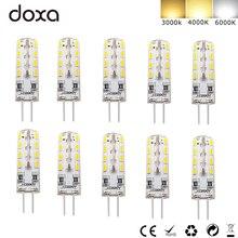 10PC G4 LED 110V 220V Corn Bulb 2W 32LED 360 Beam Angle 3000K 4000K 3014SMD Replace 10W Halogen Spotlight Chandelier Lamp