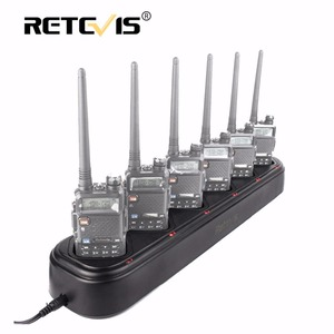 Image 5 - Retevis R 611 Rapid Safe Six Way Charger Single Row Radio/Battery Charger For Baofeng UV 5R Walkie Talkie Retevis RT5R/RT 5RV
