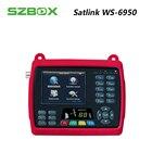 SZBOX satlink ws-6950 3.5 inch TFT LCD screen satellite finder dvb-s ws6950 sat finder mepg2 Meter satlink 6950 digital signal