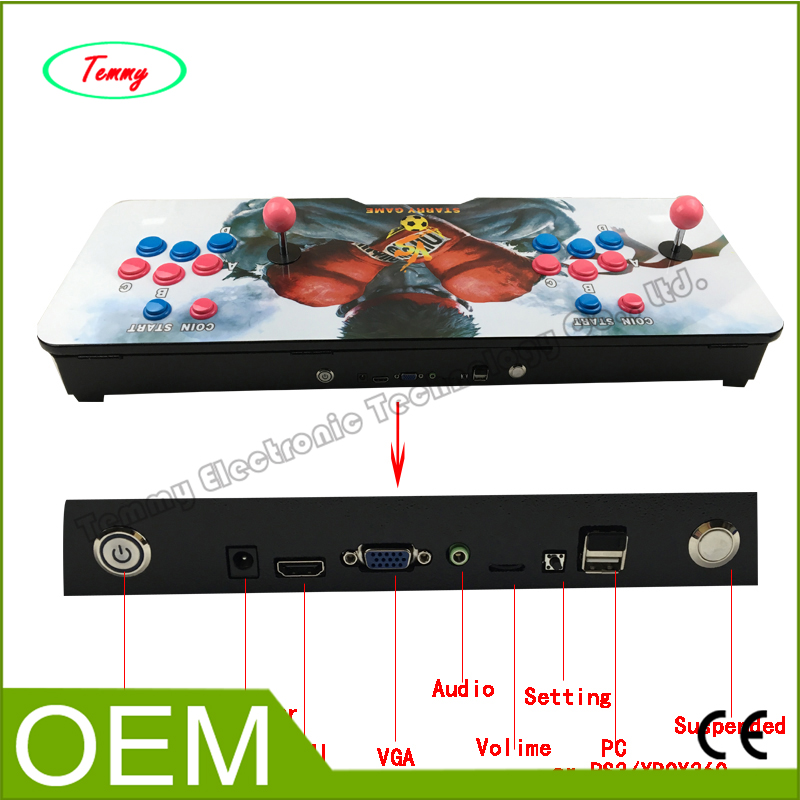 все цены на  Arcade Controller with Built in Games Pandora Box 4S HDMI 680 in 1 Mutli Game Board VGA/CGA output for Jamma Arcade console  онлайн
