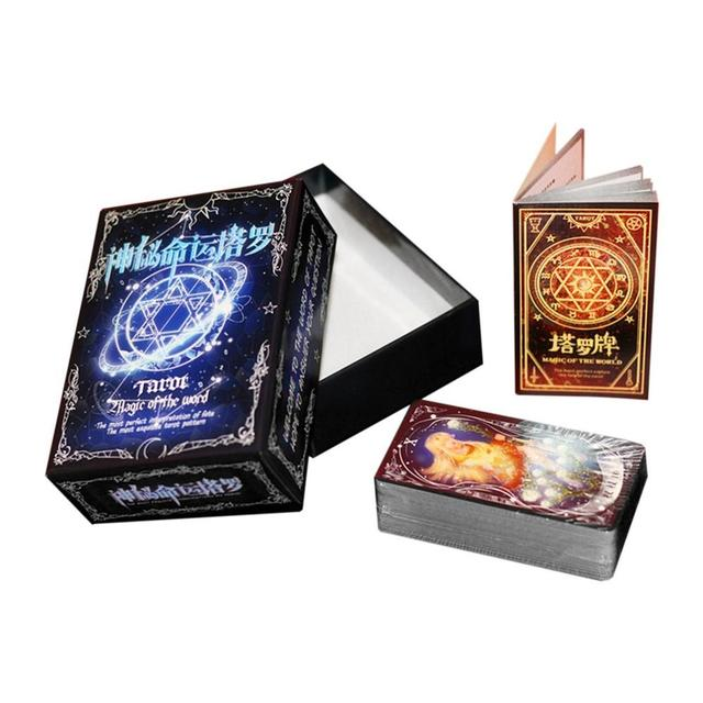 US $8 45 21% OFF|2018 Mysterious Destiny Tarot Love Cards Game Tarot  Tabletop Game Anime Card Mythic Fate Divination Card For Family Friends-in  Board
