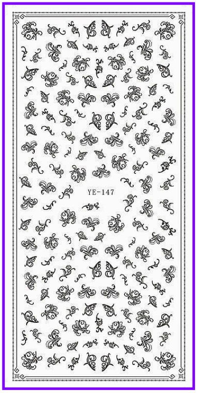 Wedding Nail Art Stickers Gallery Designs Whole