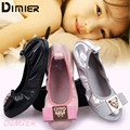 6-12 years old Girl Shoes With Sheepskin Chaussure Enfant Dancing Princess Shoes Kids Dress Performance Party Shoes CJ-10029