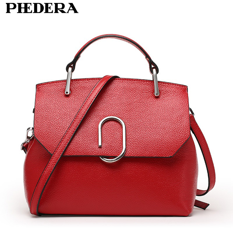New Popular Cowhide Fashion Women Handbags Real Leather Female Tote Bag Spring and Summer Women's Messenger Bags Ladies Bag