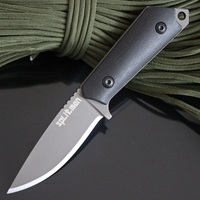 Hunting Knife Survival Fixed Blade Titanium Tactical Huntsman Knife Karambit Knives High Quality Camping EDC Knifes
