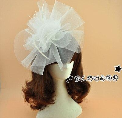 16 Colors Fashion 2016 New Wedding Hat Veils Bridal Party Hats Wedding Accessories Headwear tocados sombreros bodas vintage