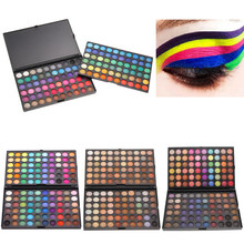120 Colors Eyeshadow Concealer Palette Makeup Set Shimmer Matte Eye Shadow Cosmetics Facial Eyes Make Up Beauty 4 Style/colors