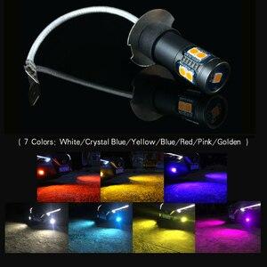 Image 2 - 2 chiếc H3 Cao Cấp cho Xe Hơi Sương Mù LED 12V Đèn Cho Xe Lexus LX470 ES300 IS300 SC430 GX470 Subaru Tribeca Impreza Di Sản