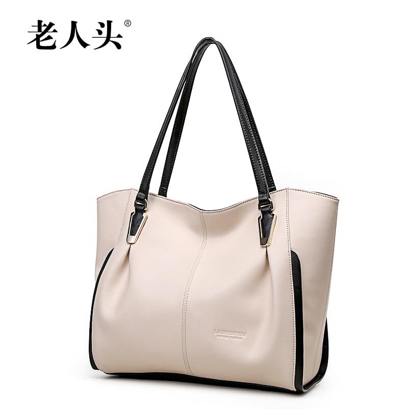 Famous brand women bag 2015 new 100% genuine leather bag Top Quality fashion panelled Women handbags Shoulder  Bag  3 Color