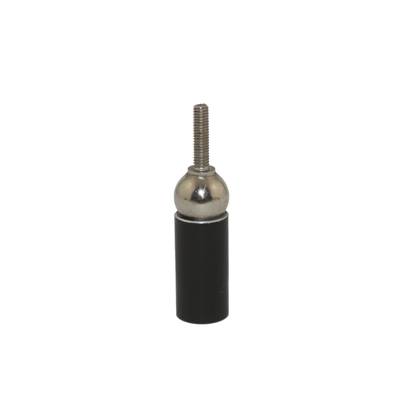 KD310 3d Printer Connection Universal Magnetic Ball Black epoxy Aluminum Rod end With Thread Hole