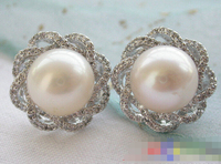 hot sell new 1352 white ROUND PEARL mount