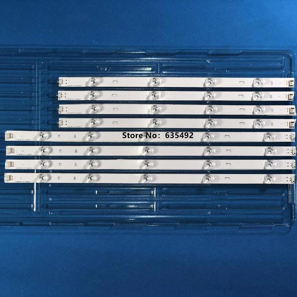 "Lampu Latar LED Lampu Strip 9 LED untuk LG TV 47 Inci Innotek DRT 3.0 47 ""_ A/B tipe 47LB6300 47GB6500 47lb653v 6916L-1948A 6916L-1949A"