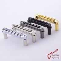 1 Set Genuine Original GOTOH GE103B T Tune O Matic Style Electric Guitar Bridge MADE IN JAPAN