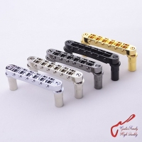 1 Set Genuine Original GOTOH GE103B T Tune O Matic Style Electric Guitar Bridge