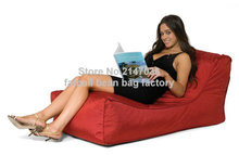 Red home furniture sofa bed, outdoor and living room bean bag chair