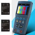 "Free shipping!2.8"" AHD Hybrid CCTV Camera Video PTZ Control Tester Multimeter+Extra 1 Battery"
