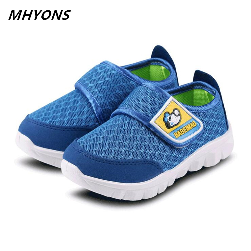 MHYONS 2019Spring And Summer Children's Shoes Boys And Girls Casual Sports Shoes Fashion Children's Sports Shoes Mesh Shoes