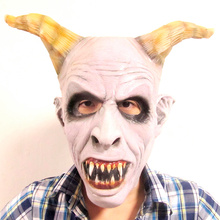 Free shipping Halloween Melting face zombie undead horror bloody marvelous adventure adult aliens scary Halloween goat masks