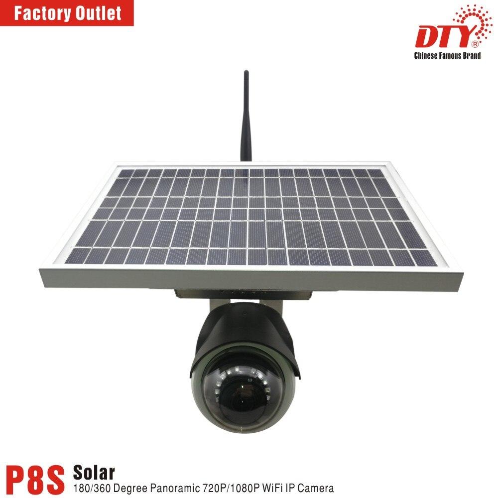 DTY new panoramic fisheye xm clound tech solar powered surveillance cameras with wifi camera with wifi cameras camera camera solar - title=
