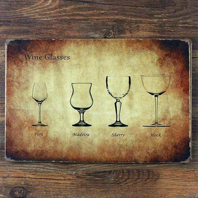 Vintage home decor kitchen wall art metal tin sign Various sizes of ...