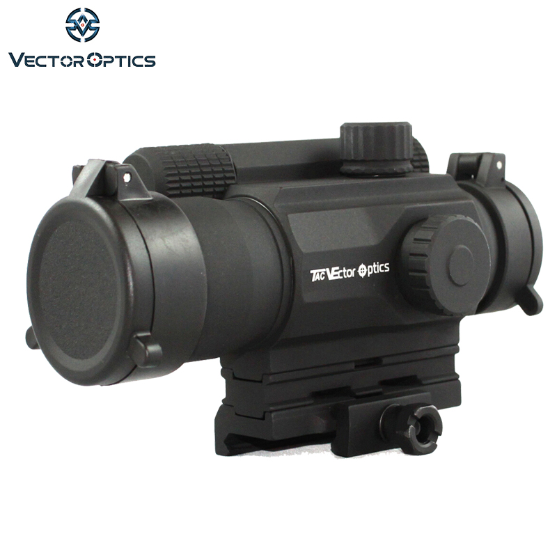 2019 Mode Vector Optics 1x35mm Relfex Red Dot Anblick. 223 5,56 M4 Ar Ak Gun Umfang Mit Riser Montieren Filp Up Cap Fit 21mm Picatinny Schienen