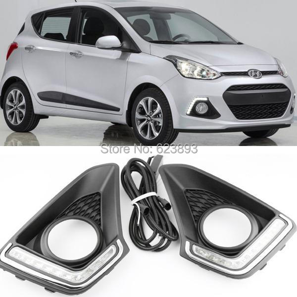 Free Shipping 2x Car Special Led Daytime Running Fog Lights Lamp Drl