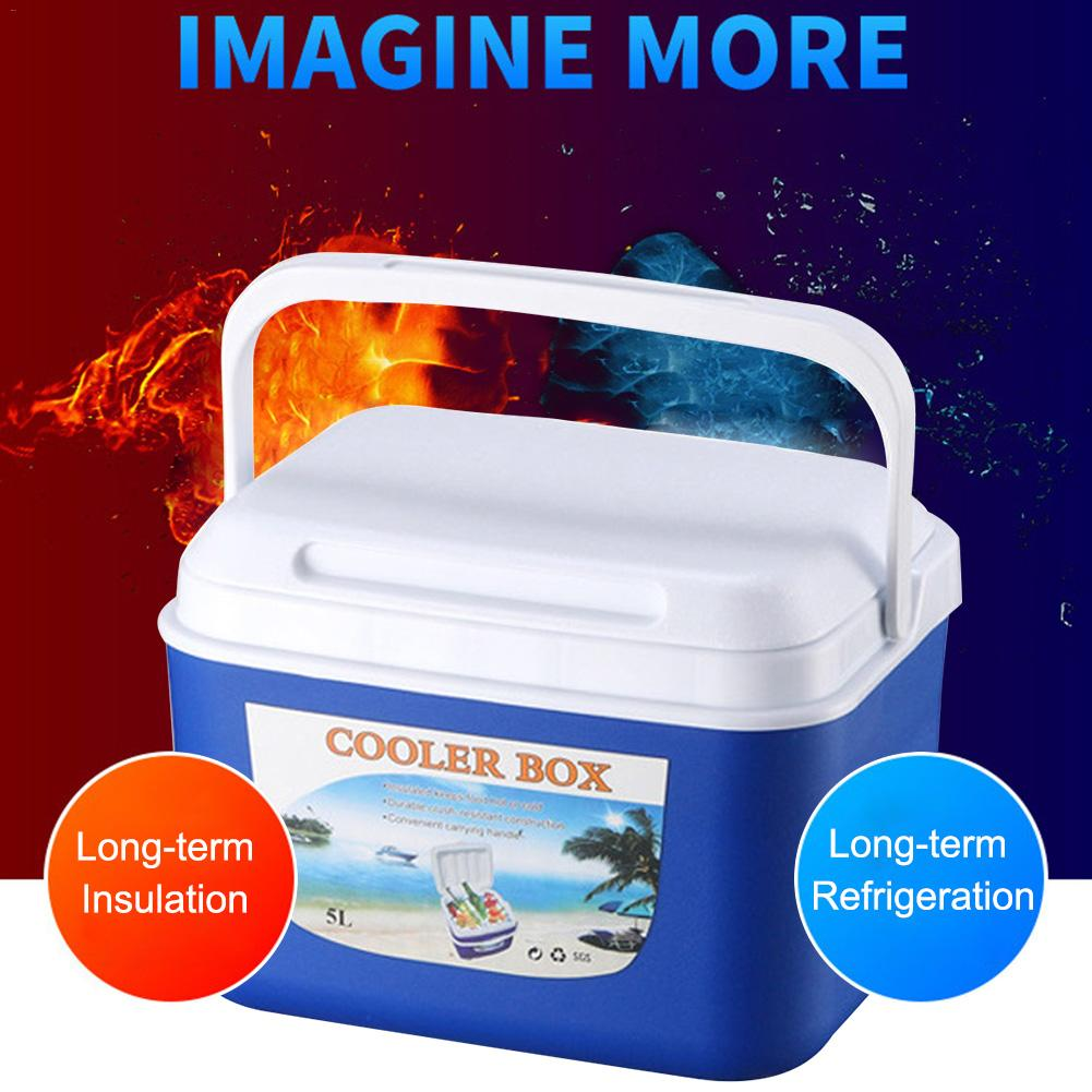 Car Fridge Cooler-Box Fishing-Box Glaciere-Cooler Portable Camping Travel 5L