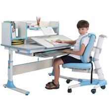 Многофункциональный стол для обучения детей эргономичный детский учебный стол для студентов регулируемый стол и стул