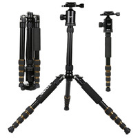 Zomei Z699 Professional Portable Camera Video Photo Tripod with Quick Release Plate For Canon Nikon Sony DSLR Camera
