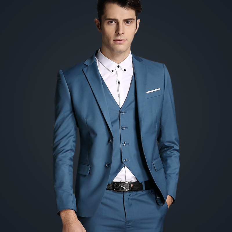 Slim Azul De Cena Formal Piezas Ternos Hombres Image Same Homme Para Traje Esmoquin As Los Fiesta Boda Novio 3 wI4Bq5x4r