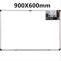 60*90 см висячая Магнитная большая белая доска для объявлений учебная офисная доска для рисования Студенческая доска