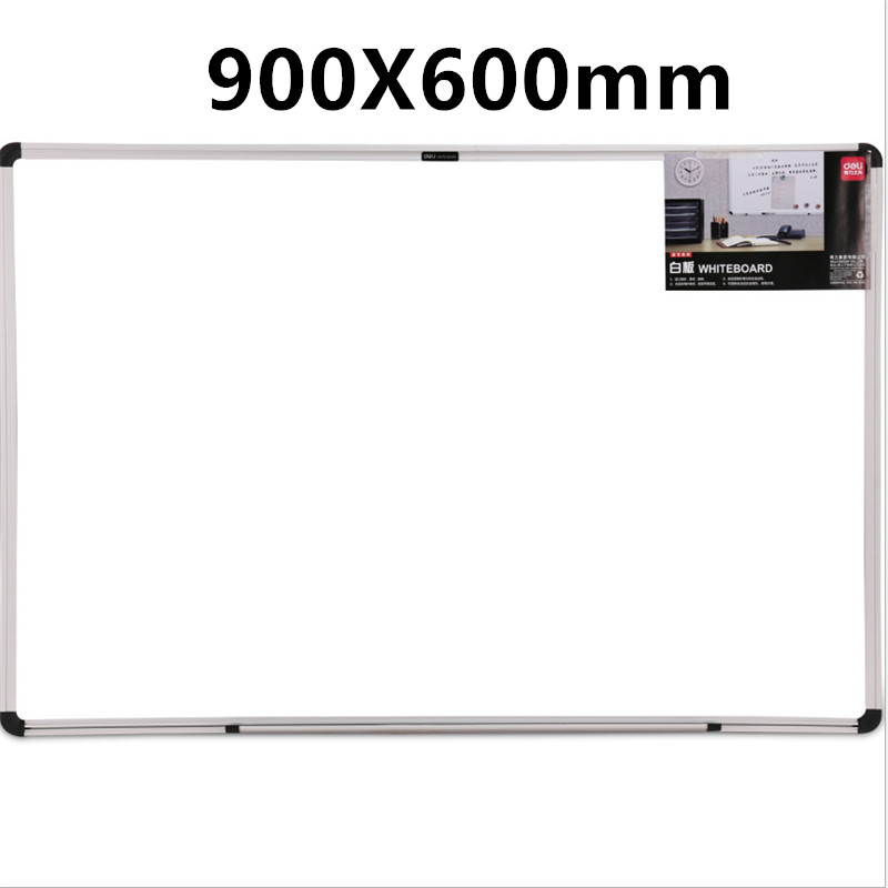 60*90CM Hanging Magnetic Big White Board Bulletin Board Writing Teaching Office Meeting Drawing Board  Student Whiteboard