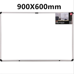 Hanging magnetic big white board bulletin board Writing teaching office meeting drawing board 60*90CM student whiteboard