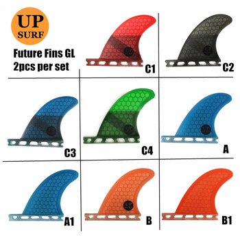 Future-Fins SUP Surfboard GL Blue/red/black/green/orange Honeycomb Fins Future Rear Fin Quilhas In Surfing upsurf