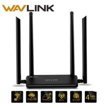 Wavlink AC1200 Inalámbrico de Alta Potencia Wifi Router de Banda Dual 2.4 GHz Wifi Router Repetidor 5 ghz con 4 * 5dBi de alta Ganancia de la Antena Externa