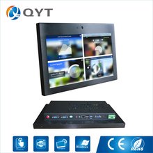 15.6 inch All in one pc with front 800W camera industrial pc with intel C1037U 4USB/2RS232 Resistive touch screen 1366×768