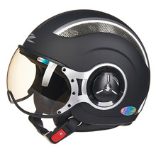 MOMO Style Chopper Pilot Motorcycle helmet Capacetes Motociclismo 218b Cascos Para Moto Casque Motorhelm Open Face Helmets