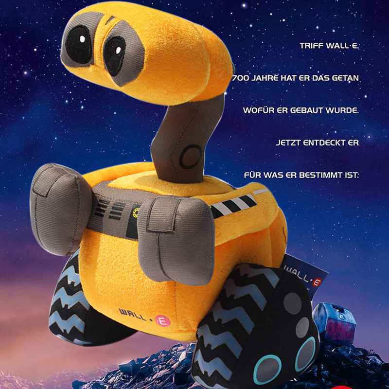 Wall-E Movie Plush 27cm Wall E Robot Plush High Quality Walle Plush Stuffed Toys wall e walle wall e robot models wall e