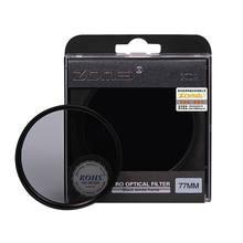 Zomei kit de filtro de câmera, densidade neutra, 52mm 58mm 62mm 67mm 77mm 82mm nd2 nd4 nd8 para slr dslr lente da câmera