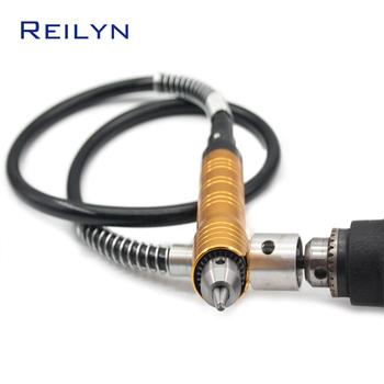 Elastyczny wałek do mocowania rur rozmiar 4mm 6 5MM do elektryczna szlifierka wału do młynek do mielenia dremel tanie i dobre opinie Elektryczne FS60 Reilyn
