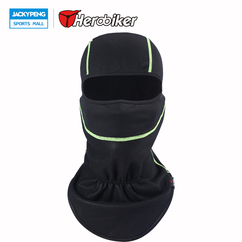 HEROBIKER Motorcycle Full Face Mask Cycling Mask Motor Cycle Masks Bicycle Sports Protec ...