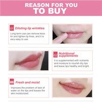 10Pcs Beauty Super Lip Plumper Pink Crystal Collagen Lip Mask Patches Moisture Essence Wrinkle Ance korean Cosmetics Skin Care 5