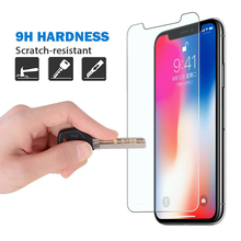 9H Ultra-thin tempered glass for iPhone X XS Max XR 8 7 6 6S Plus screen protector protective glass film for iphone 5 5s se 4 4s
