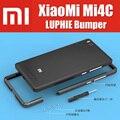 Mi4c оригинальный 100% luphie highly oxidized ЧПУ алюминиевый металлический каркас для xiaomi mi4c бампер никогда не упасть QMK1109