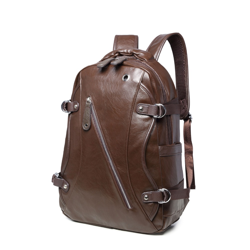 (B9593)2016 Fashion quality PU leather women backpack, two kinds of color , suitable for mochila or shopping bag