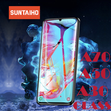 Suntaiho for Samsung a50 Glass Galaxy A30 A70 glass M30 j4 J6 j8 A7 2018 A5 2017 screen protector a70 A50 Tempered Film